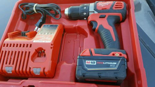 Milwaukee m18 red lithium drill kit