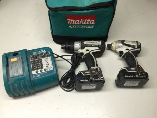 Makita bdf452 18v li-ion drill and driver 18v li-ion bundle