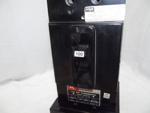 Federal Pacific Fusematic Circuit Breaker 100 Amp 600 Volt Part # XF-632100, US $350.00 � Picture 4