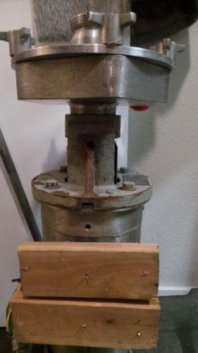 Fristam FPX 1741-205 Centrifugal Pump Baldor 5HP Washdown