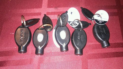 InVue Zip security system Key Fobs AF4400 / Lot of 5
