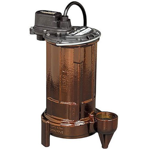 Liberty pumps ev290 - 3/4 hp cast iron sump/effluent pump (non-automatic)