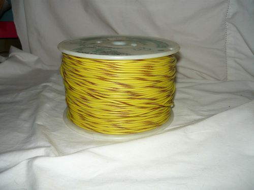1,000 ft. 18gpt16-41 brn/yl wire