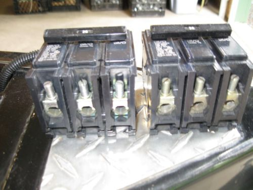 Challenger C320-20 Amp 3 Pole 240 Volt Breakers- ( lot of 2)  Price Reduced !!!, US $49.00 – Picture 2