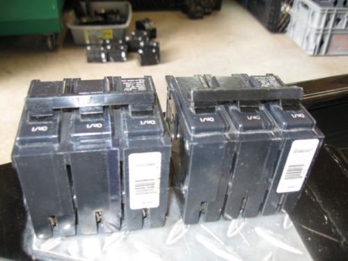 Challenger C320-20 Amp 3 Pole 240 Volt Breakers- ( lot of 2)  Price Reduced !!!, US $49.00 – Picture 3