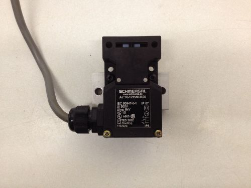 Schmersal safety interlock switch az16-12zvrk-m20