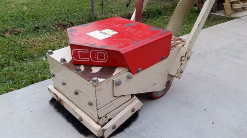 EDCO CD5 5 HEAD SCABBLER SCARIFIER CONCRETE GRINDER CD-5