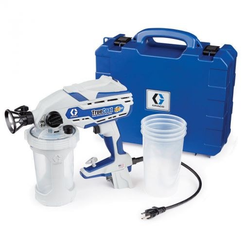Graco truecoat 360 vsp handheld paint sprayer with case/accessories 17d889