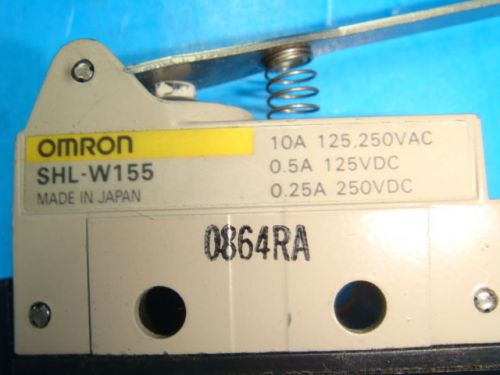 New omron shl-w155 enclosed limit switch