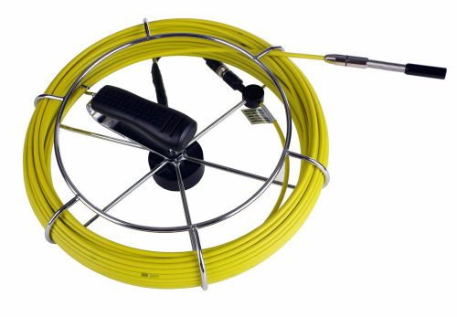 "Sewer Drain Camera Fiber Glass Push Rod,Reel 130' with 1/2"" Head, US $629.99 � Picture 1"