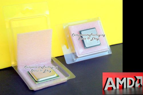 Cpu clamshell-box for amd socket a 462 754 939 940 am2 am2+ am3 am3+ qty 40 new