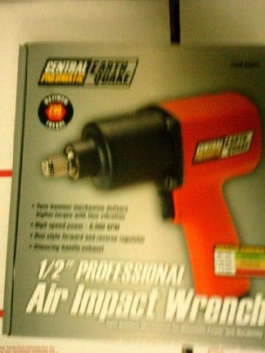 "Central pneumatic 68424 1/2"" professional air impact wrench earth quake"