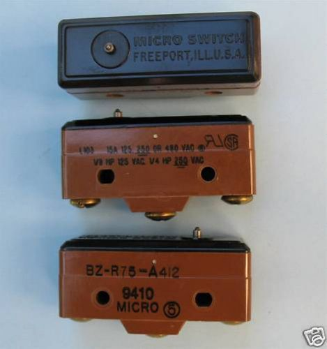 Micro switch bzr75 limit switch 15a nos (3 pcs)