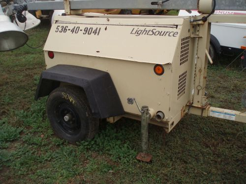 2009  ingersoll rand light tower