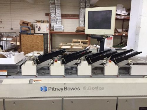 Pitney bowes 8 series inserter