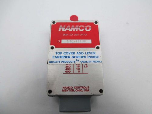 NAMCO 170-11100 CONTROL SNAP-LOCK LIMIT SWITCH 600V-AC D364912, US $10.57 – Picture 1
