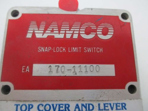 NAMCO 170-11100 CONTROL SNAP-LOCK LIMIT SWITCH 600V-AC D364912, US $10.57 – Picture 5
