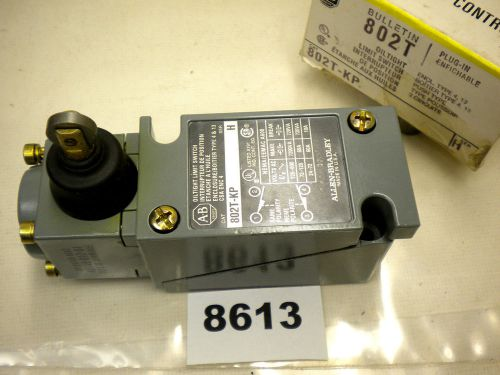 (8613) allen bradley limit switch 802t-kp oiltight