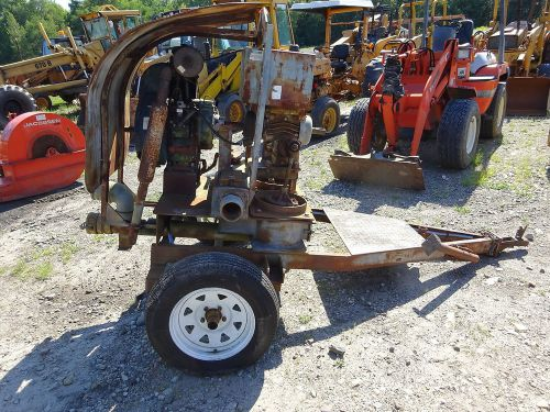 Lister petter ph1 diesel engine diaphragm mud pump nice!! trailer mud sucker