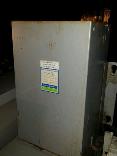 General signal hevi duty 5 kva type hst cat#: hs1ffas transformer