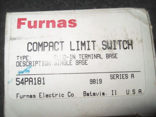 (v35-1) 1 nib furnas 54pa181 compact limit switch