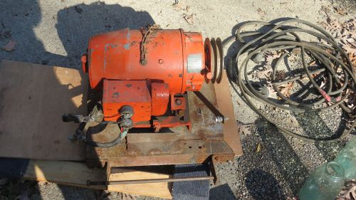 International harvester/kurz and root 50kw ac generator,stationary