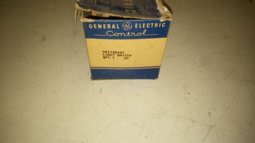 Ge cr115g101 new in box limit switch with arm see pictures #a86