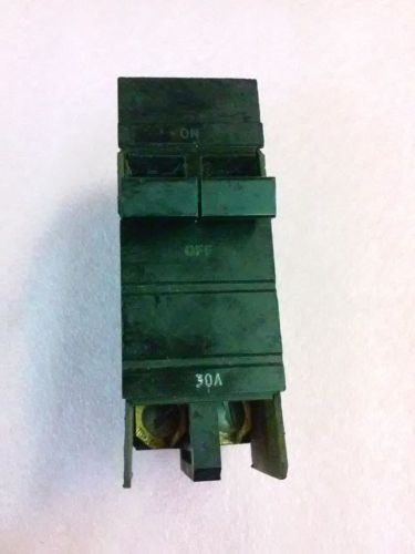 Square d co 30a 2 pole circuit breaker type xo 120/240 vac issue no bk-91