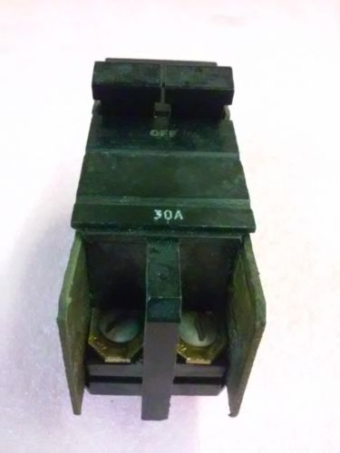 SQUARE D CO 30A 2 Pole Circuit breaker Type XO 120/240 VAC Issue No BK-91, US $24.48 � Picture 2
