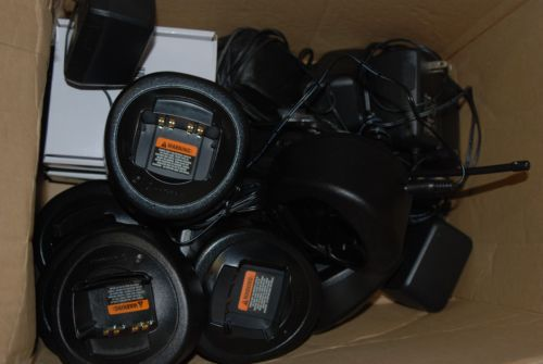 MOTOROLA LOT OF 9 UHF , HT PORTABLES 7,HT750 / 2,HT1250 IN
