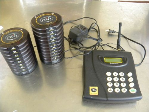 Ntn Wireless Page System 18 Pagers 2 Charge Bases