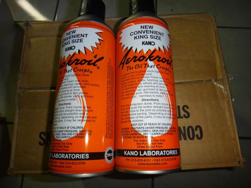 AEROKROIL KROIL 1 CASE, 13OZ, 12 CAN  PENETRANT OIL KANO LABS KING SIZE, US $135.00 � Picture 1