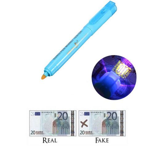 counterfeit money detector dollar ultraviolet fake play mone