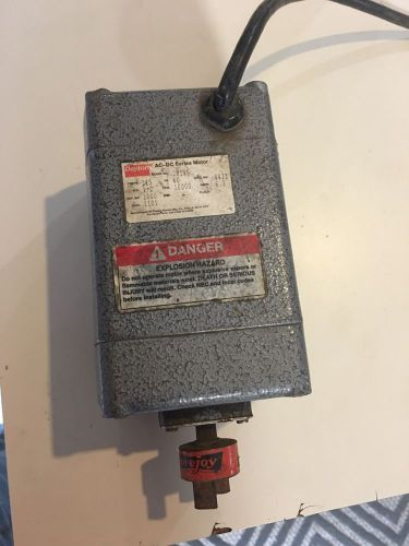Dayton Universal AC//DC Open Motor 1//2 hp 10,000 RPM 115V Rotation CCW # 2M145