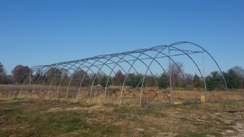 30'x85'x15 greenhouse hoop house high tunnel portable storage shed 12'x12' doors