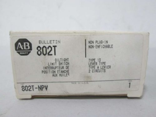 NEW ALLEN BRADLEY 802T-NPV OILTIGHT LIMIT SWITCH SER 1 D367328, US $109.43 � Picture 2