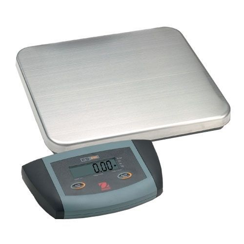 Ohaus 71138832 stainless steel es low profile bench scale es50r 50kg x 0.02kg