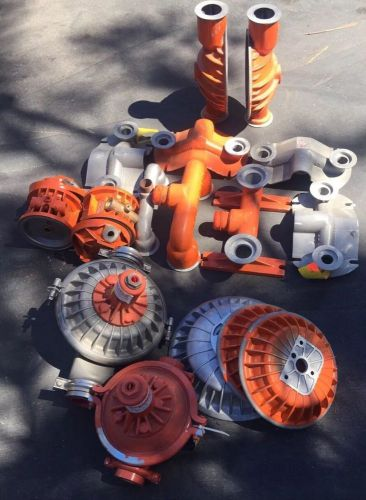 Lots / wilden pumps diaphragm pumps.