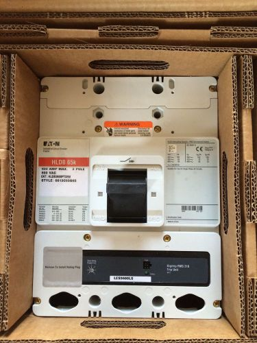 Cutler hammer hldb3600ft33w600 amp 3 pole breaker