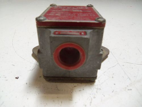 SNAP-LOCK D1200-456 LIMIT SWITCH *USED*, US $50.00 – Picture 2