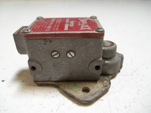SNAP-LOCK D1200-456 LIMIT SWITCH *USED*, US $50.00 – Picture 3