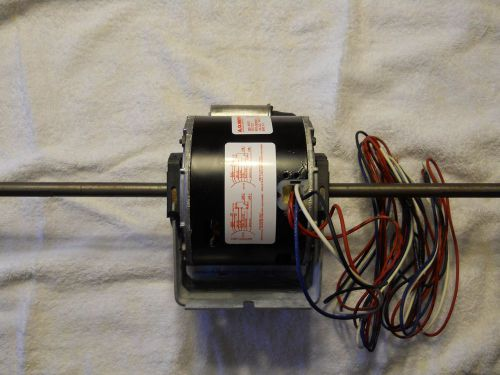 Goodman 0131m00271 ecm programmable 3 4 hp blower motor for Double ended shaft electric motor
