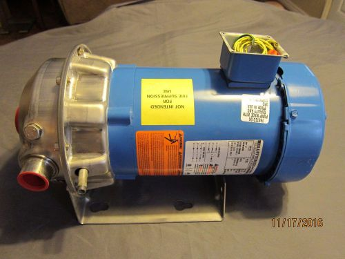 *new* goulds 1st1g5a6f npe  316l ss centrifugal water pump 1  x 1-1/4  x 6-1/8