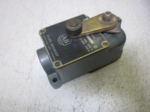 Allen bradley 801-asg17 ser.a limit switch 600v *used*