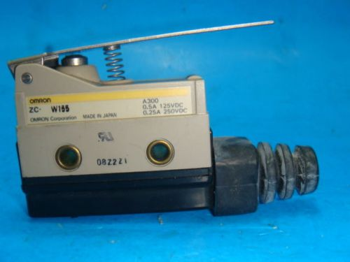 New omron zc-w155 switch limit hinge levr spdt 10a