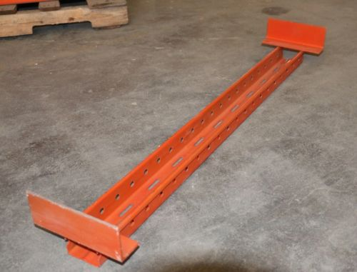 Pallet Rack Supports 42 Quot Fork Entry Bars Used From Ridg