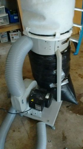 Steel city tool works 1.5 hp dust collector  works great