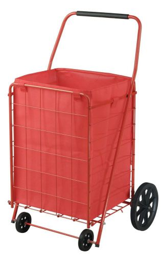 110 lbs capacity folding shopping cart utility cart steel storage baskets sturdy