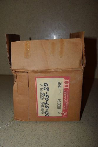 ** carrier assy bearing pump p/n 189034 071-07-05-20 -new in box  (4)