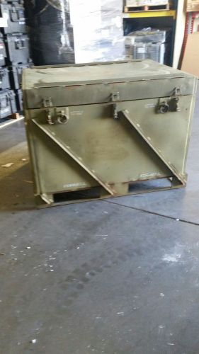 U.s. military surplus steel crate / container rare!!